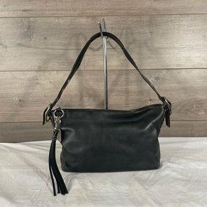 Coach Legacy 1417 Black Leather Shoulder bag